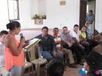 Foro en municipio de Charalá y Riachuelo